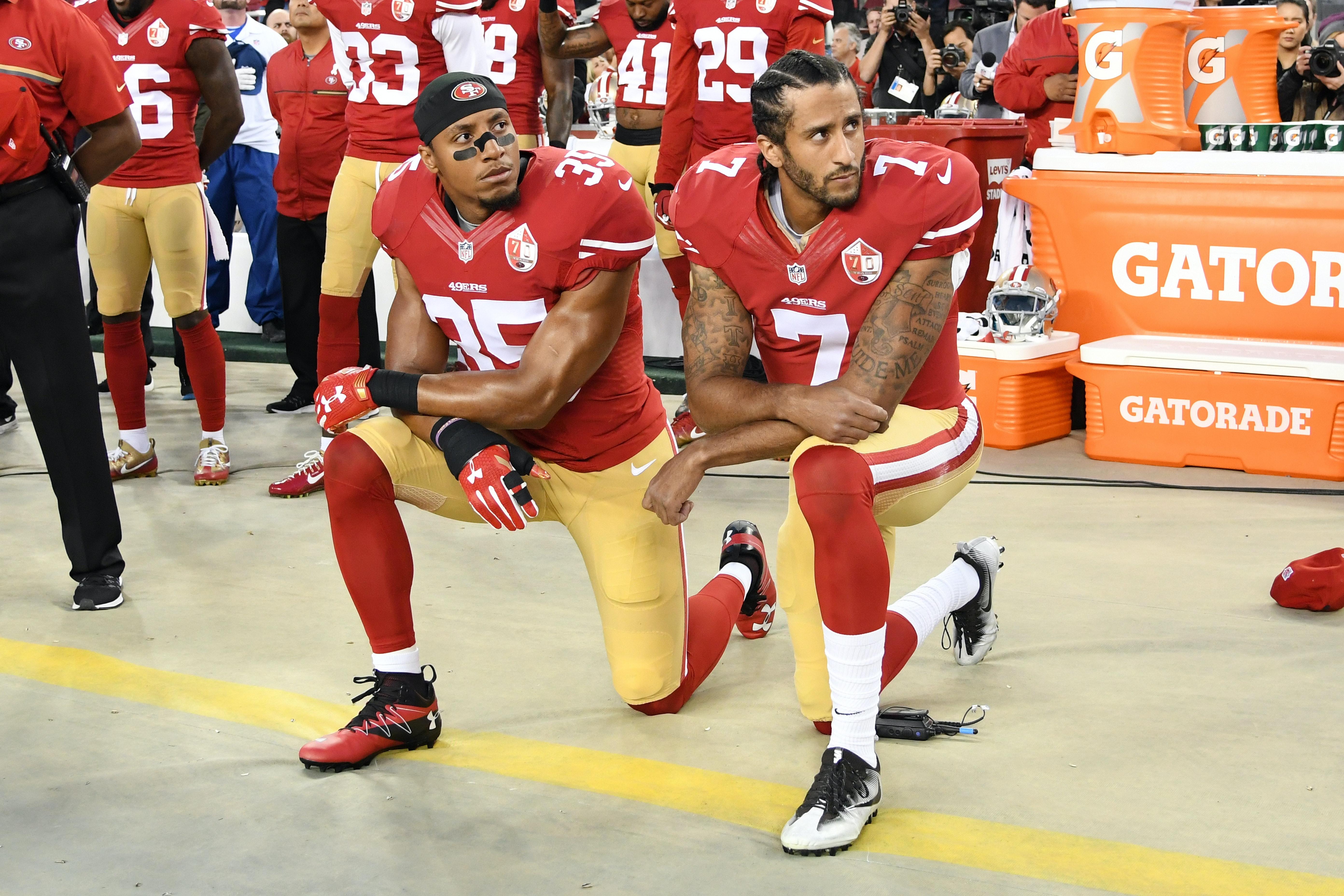 Trump Says NFL Should Have Suspended Colin Kaepernick for Kneeling