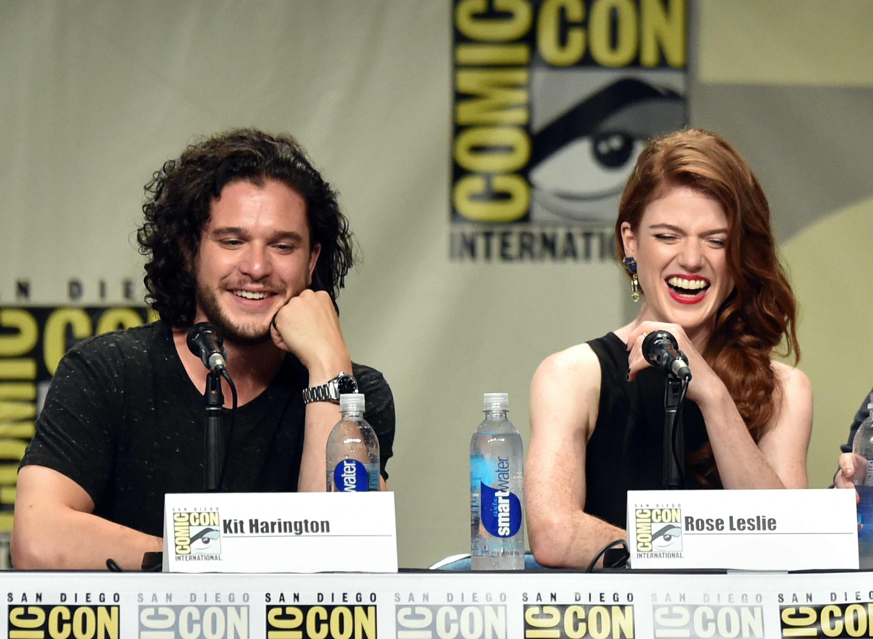 When Are Kit Harington Rose Leslie Getting Married A Happy Game