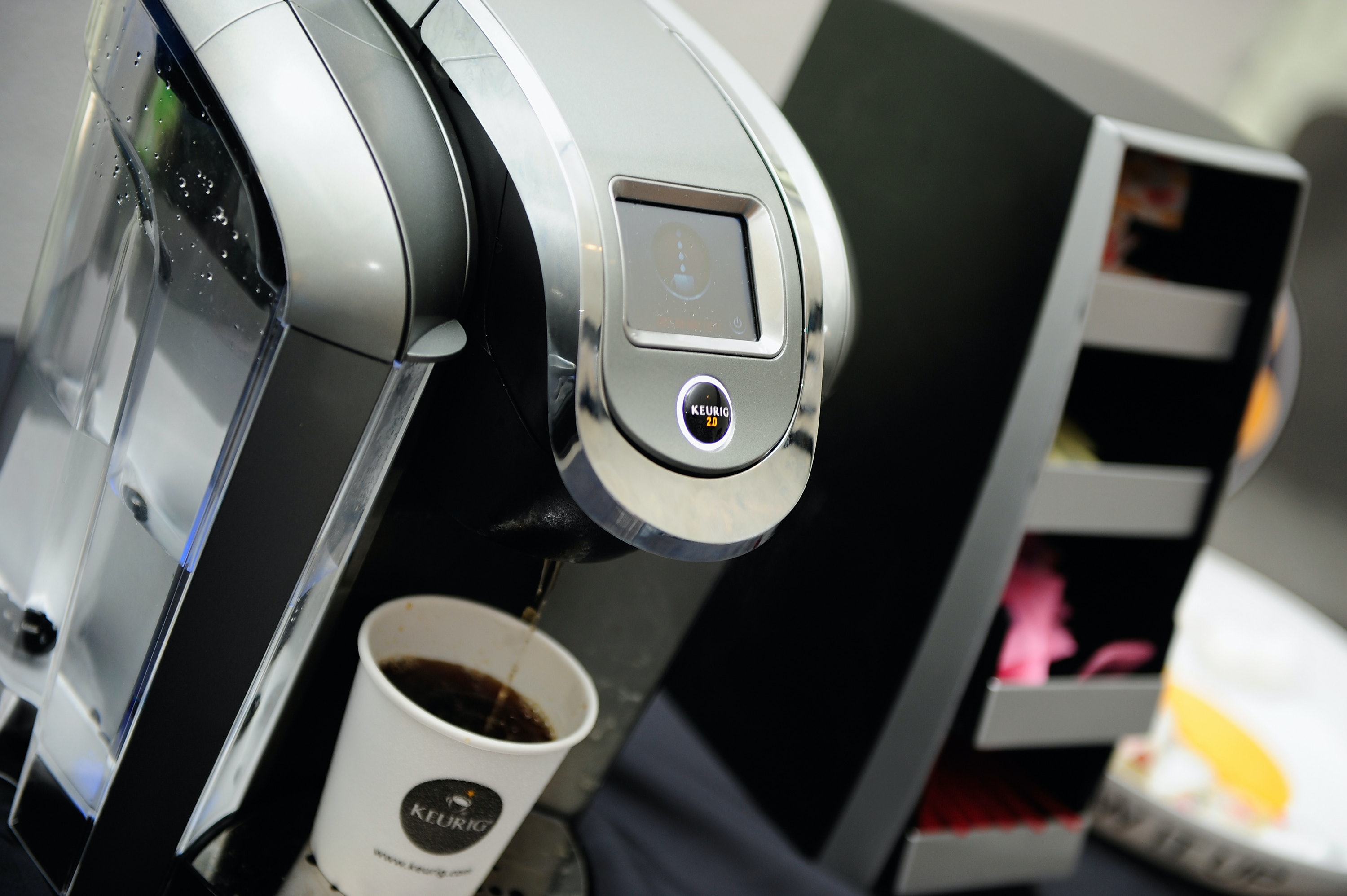 Keurig users are smashing their coffee makers in support of Fox News