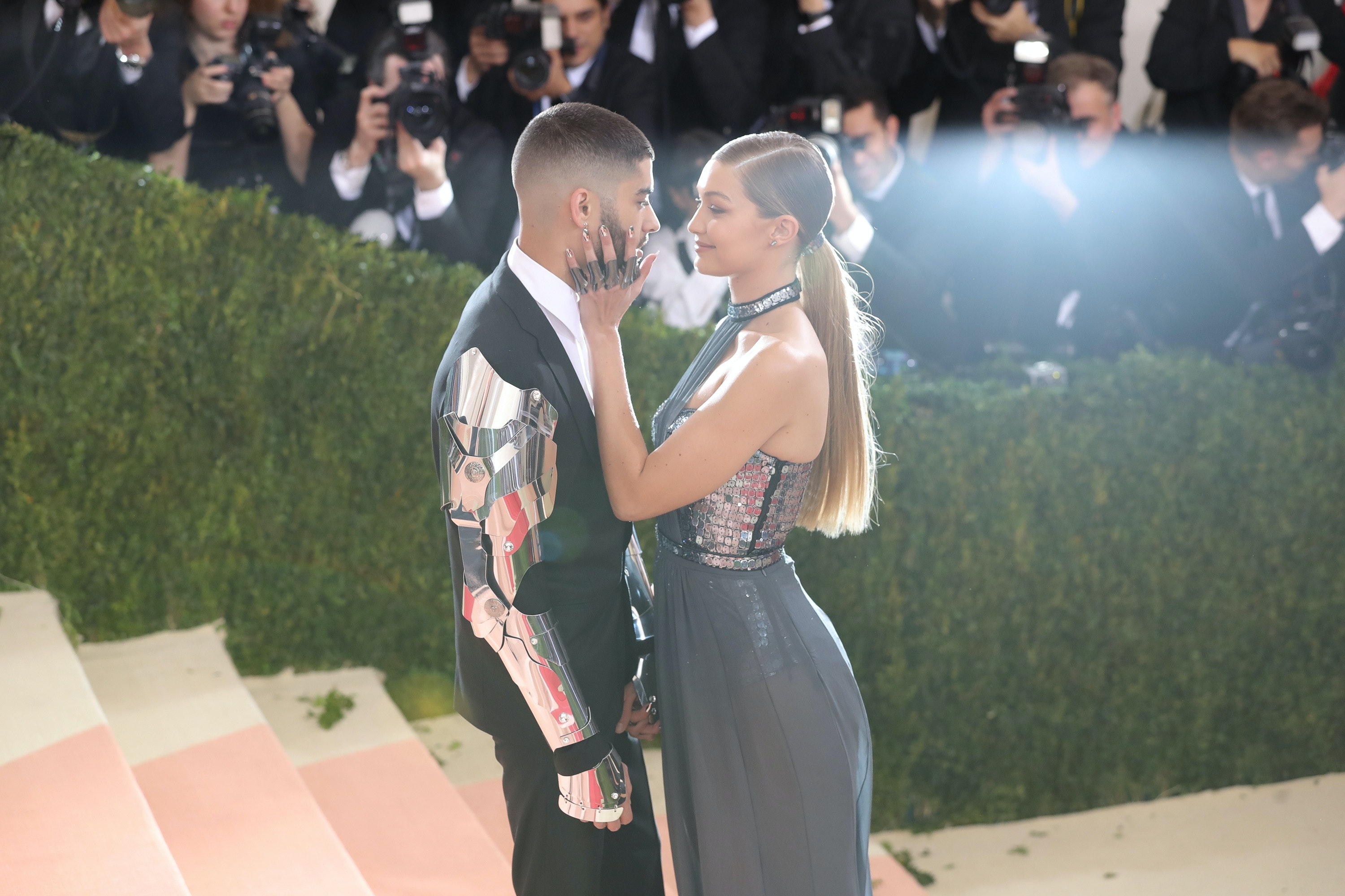 Bella Hadid Gracefully Saved Gigi From Stacking It In Public-Again