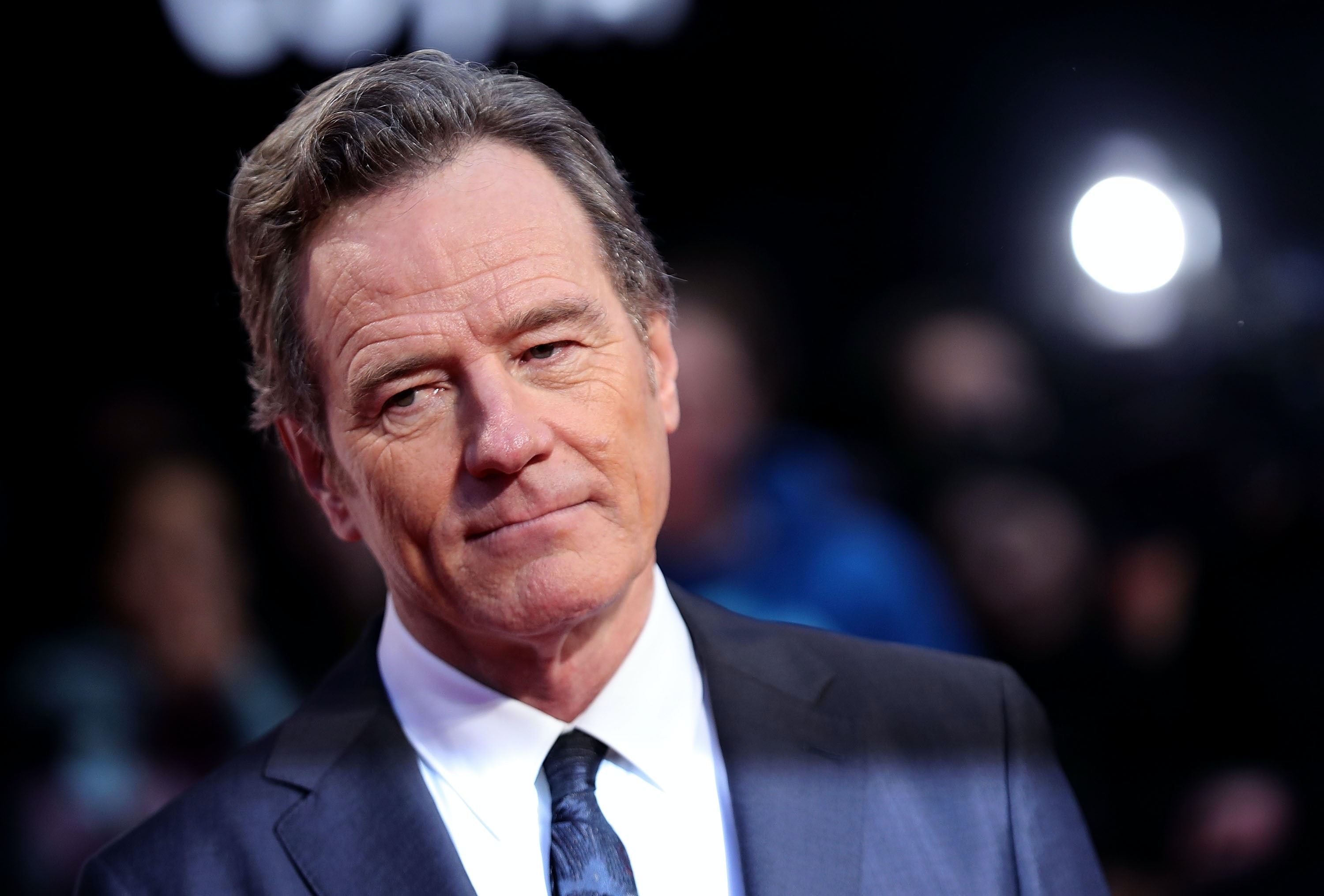 Bryan Cranston has described his brush with the late killer Charlie Manson