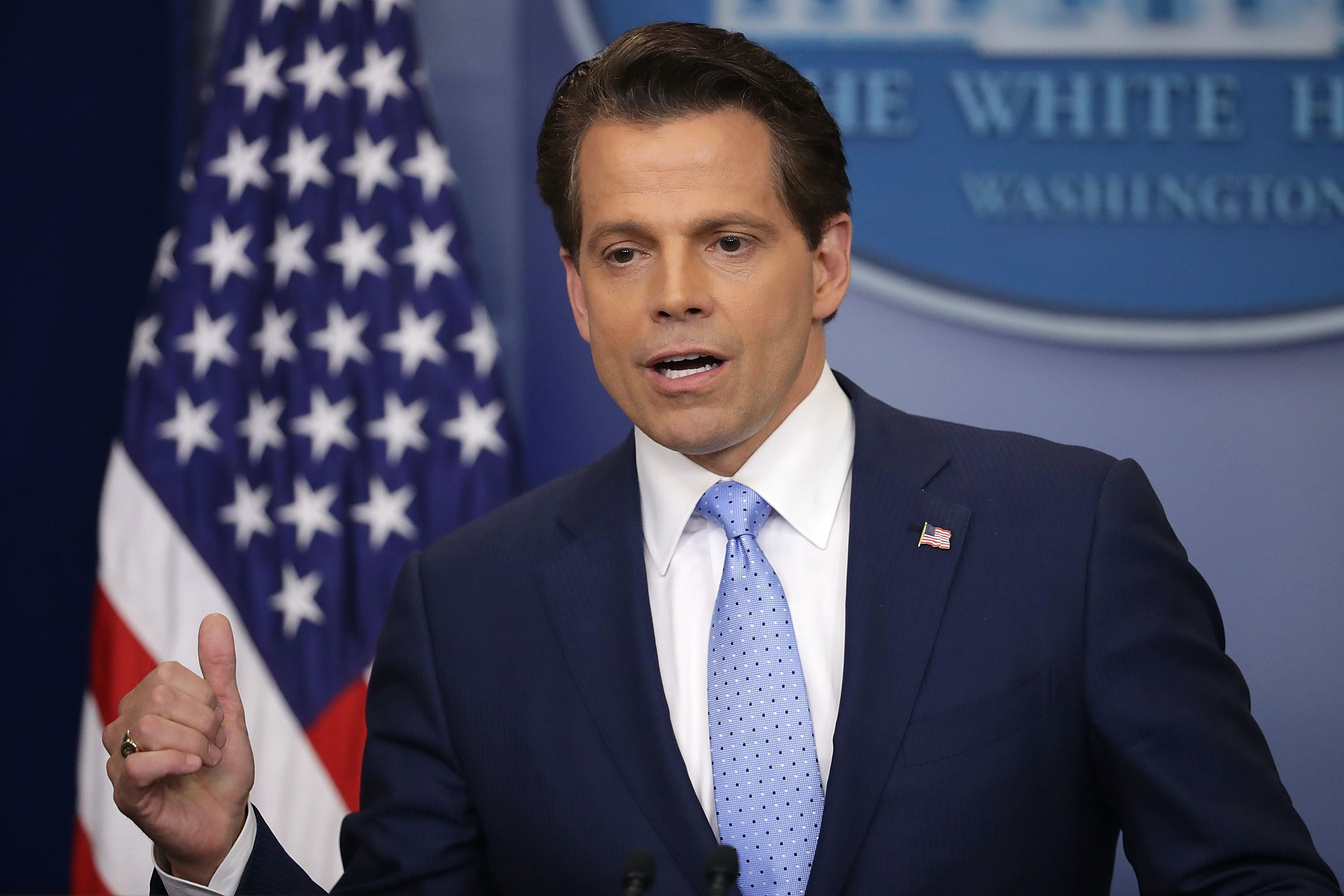 Scaramucci Threatens To Sue Tufts Newspaper Over 'Defamatory' Op-Ed