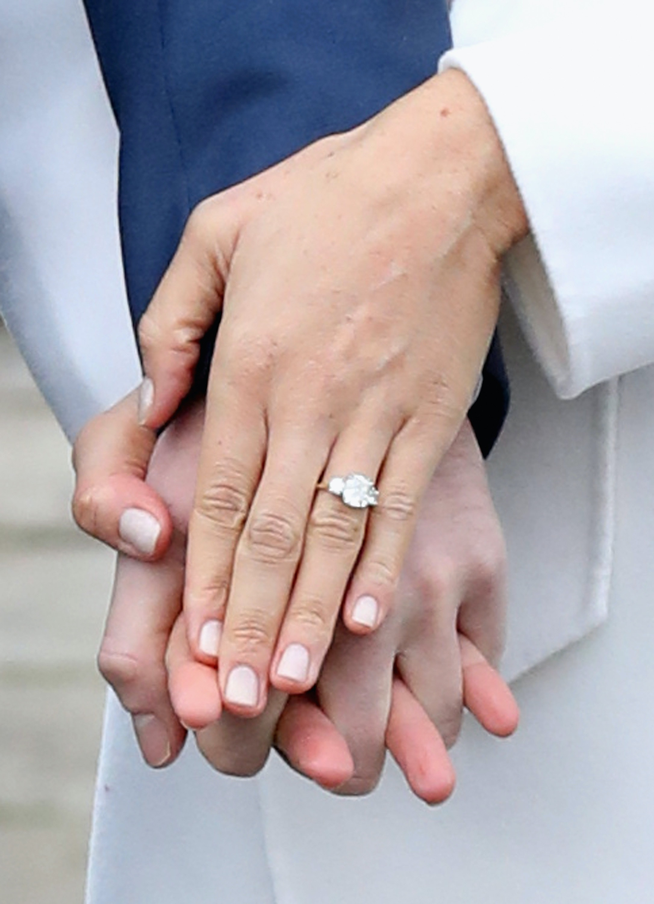 how much is meghan markle u0026 39 s engagement ring worth  the