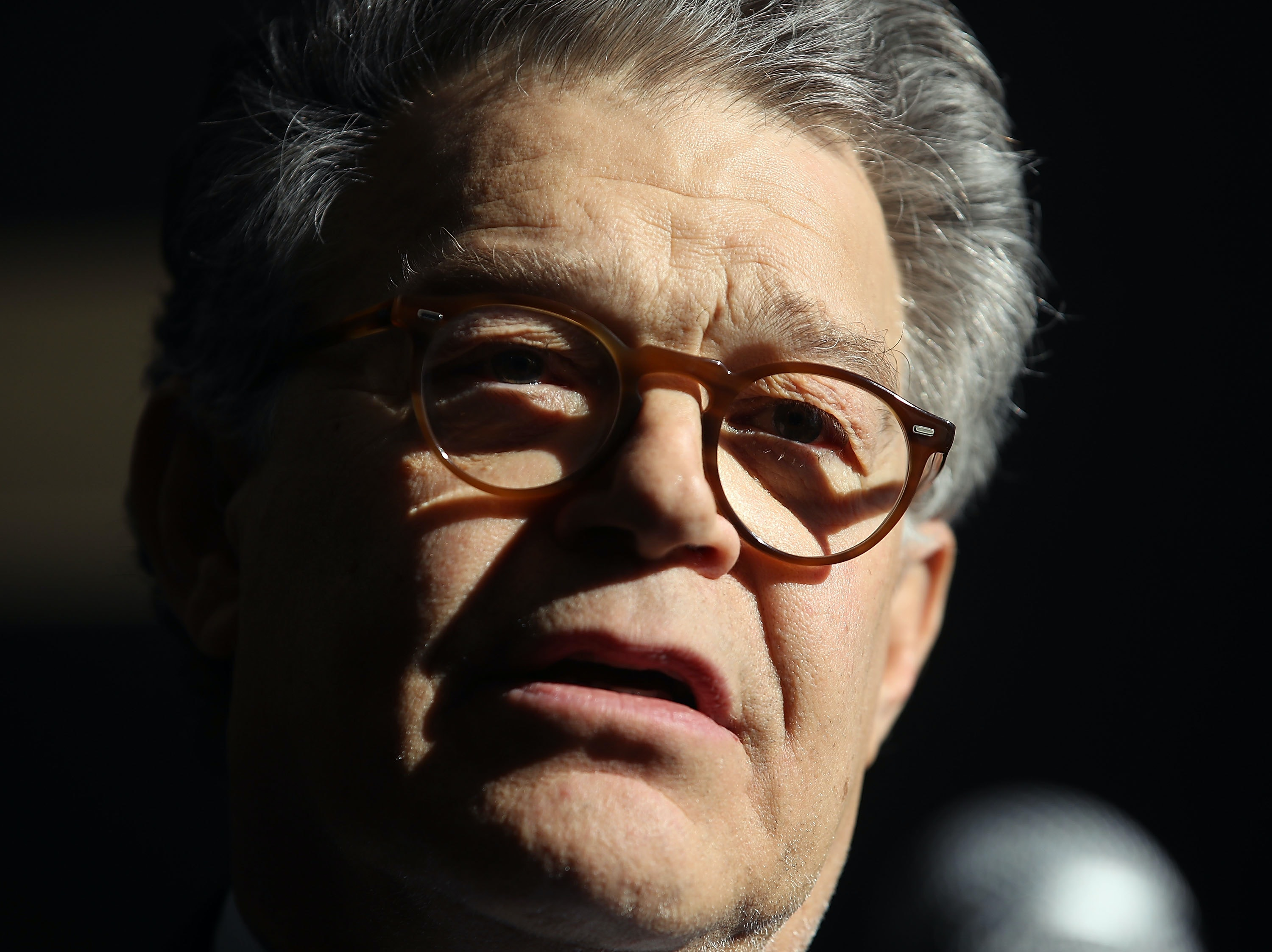 Al Franken Accused of Groping Army Veteran During 2003 USO Tour