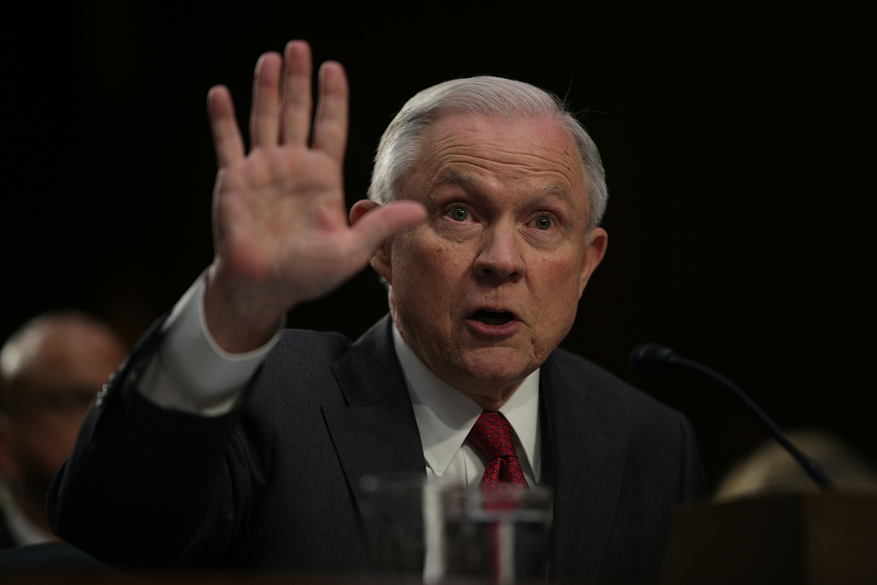 Jeff Sessions' DOJ Drops Prosecution Of Woman Who Laughed At Jeff Sessions