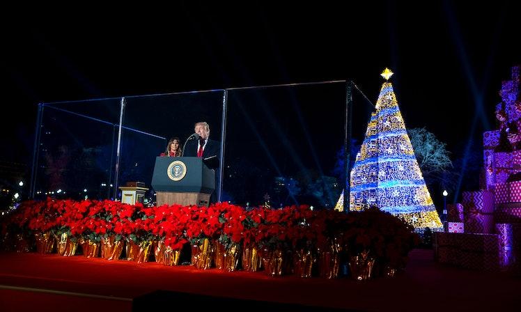 Barack Obama 39 S Christmas Tree Lighting 2016 Was So Much