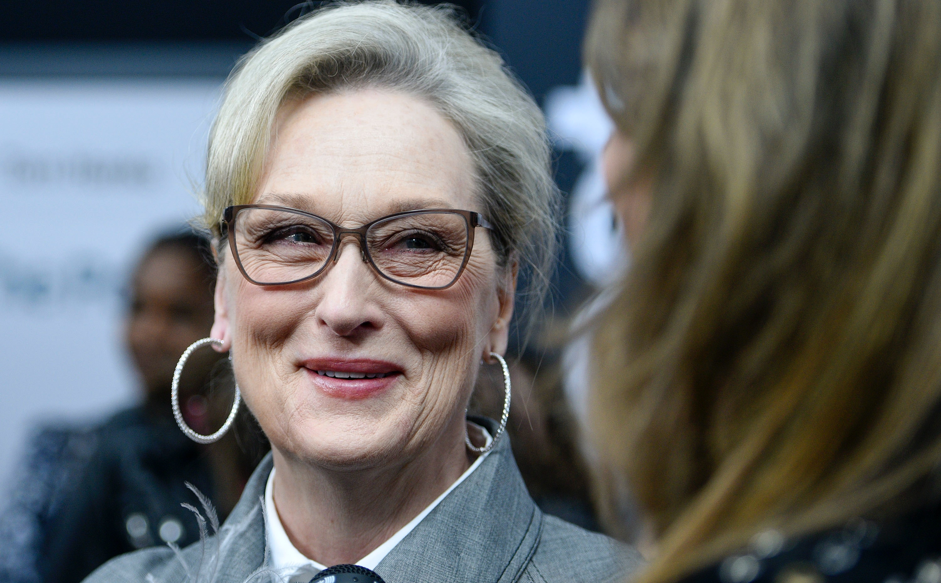 Posters Against Actress Meryl Streep, Claiming
