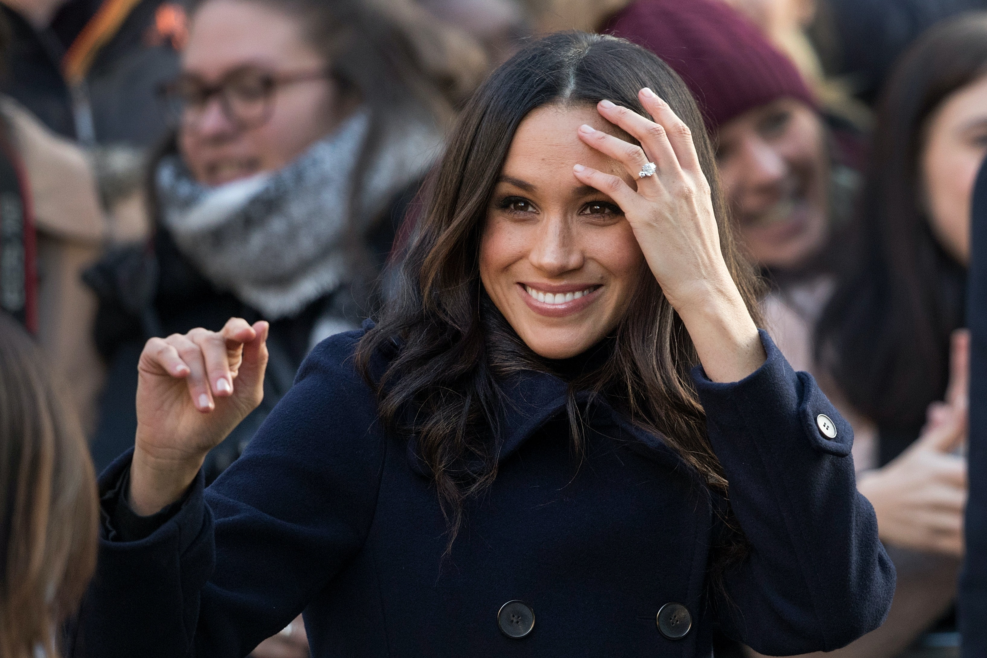 Was Meghan Markle trolled by royal family member wearing racist jewelry?