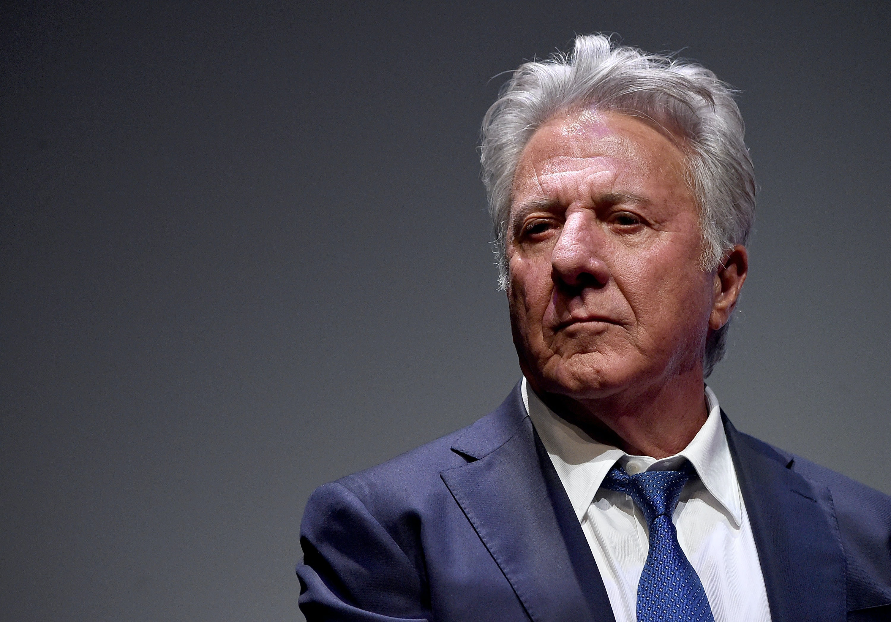 Dustin Hoffman & John Oliver Get Heated Over Harassment Claims