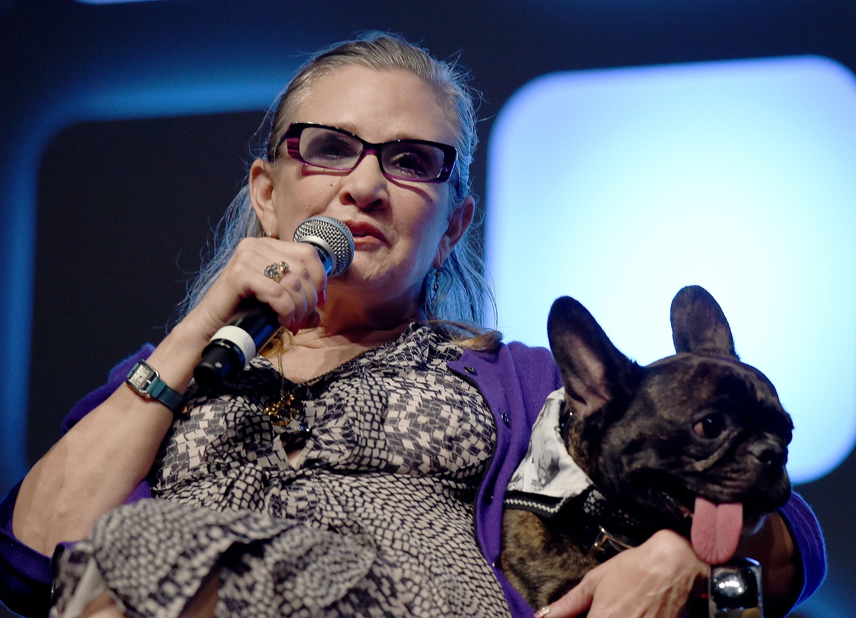 Carrie Fisher's Beloved Dog, Gary, Will Appear in 'Star Wars