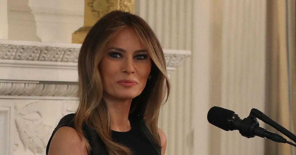 3 Weird Things We Know About Melania Trump 39 S White House