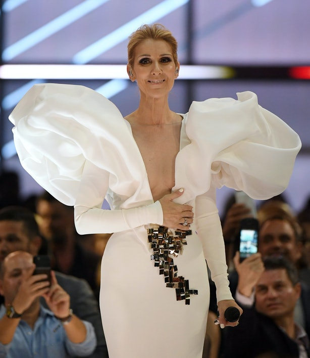 Vogue shared a nude photo of Celine Dion - and she looks