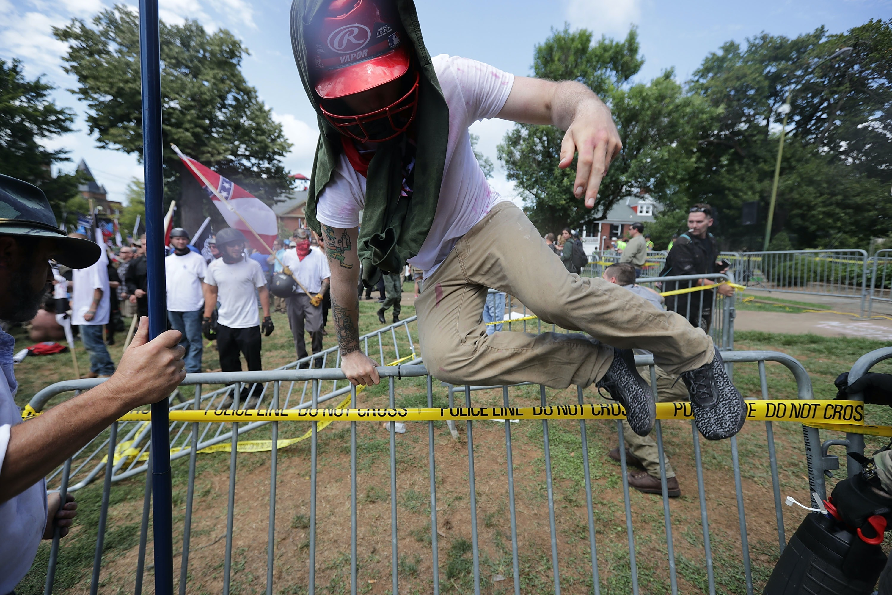 Dead, 20 injured after supremacist march in Virginia