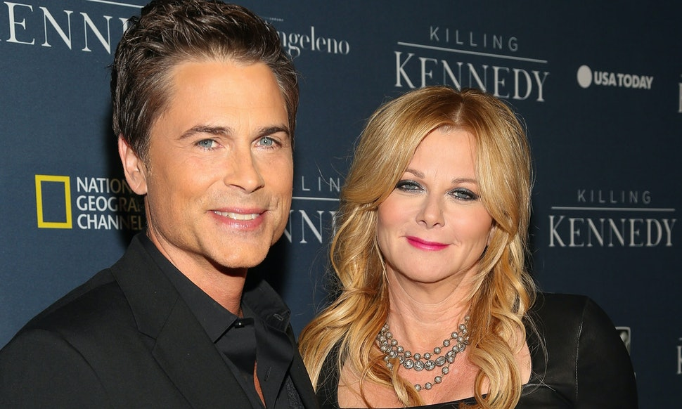 how did rob lowe his wife sheryl berkoff meet these. Black Bedroom Furniture Sets. Home Design Ideas