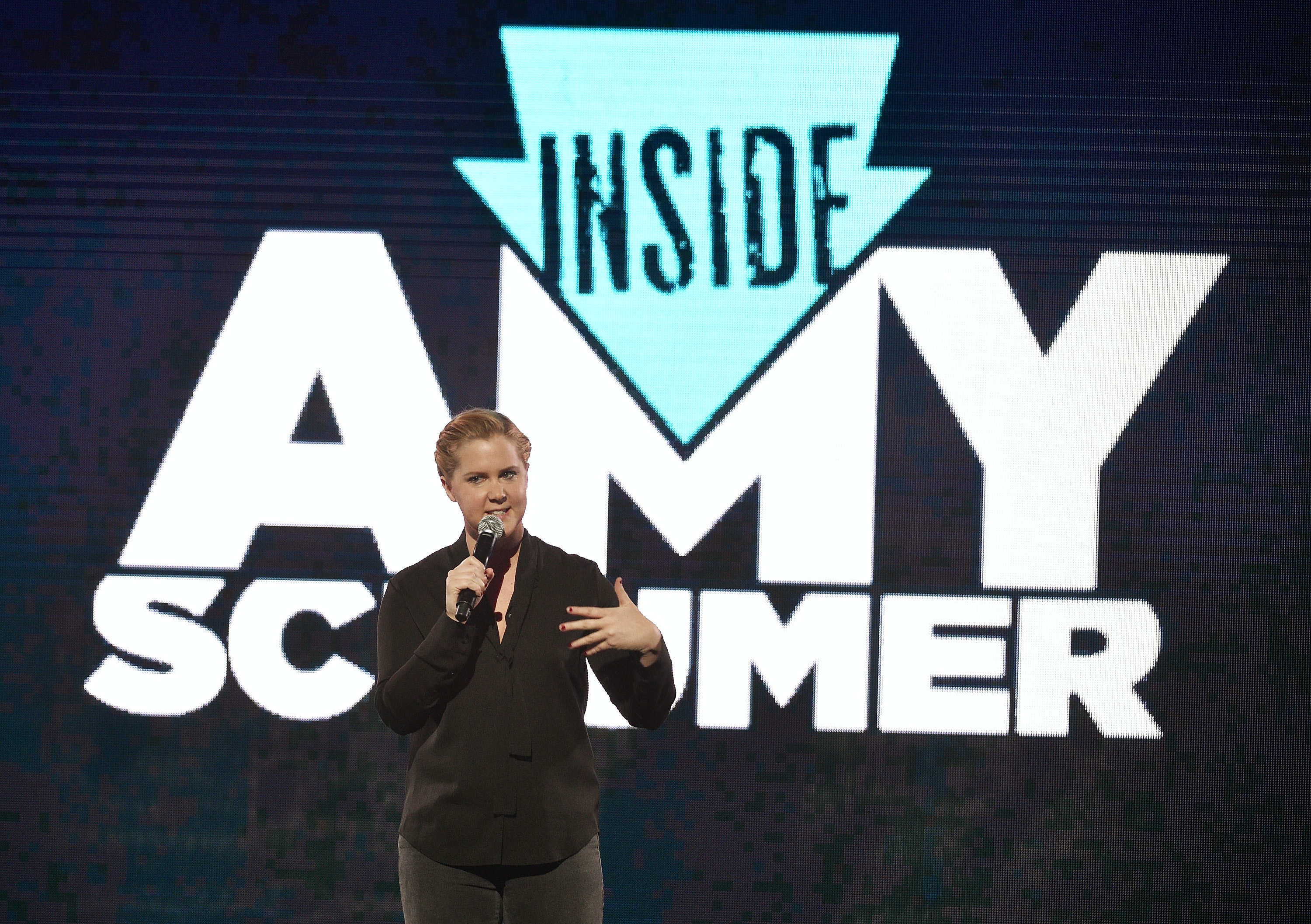 They aren't true, says Amy Schumer on rumors of equal pay