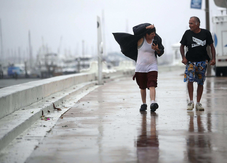 ACLU asks Border Patrol to stop enforcement during Texas hurricane