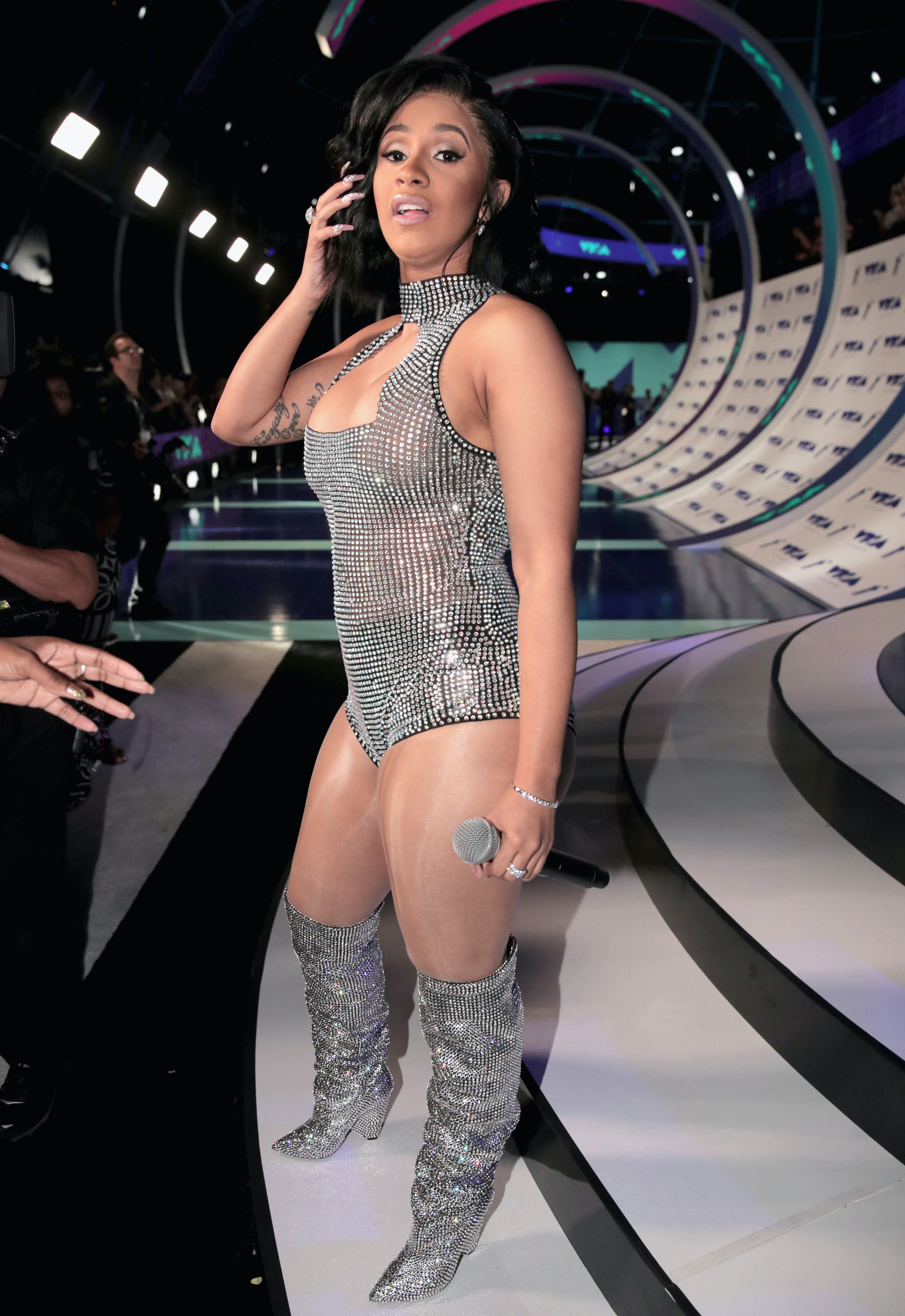 What Is Cardi B S Leg Tattoo It Might Not Be What You Expect