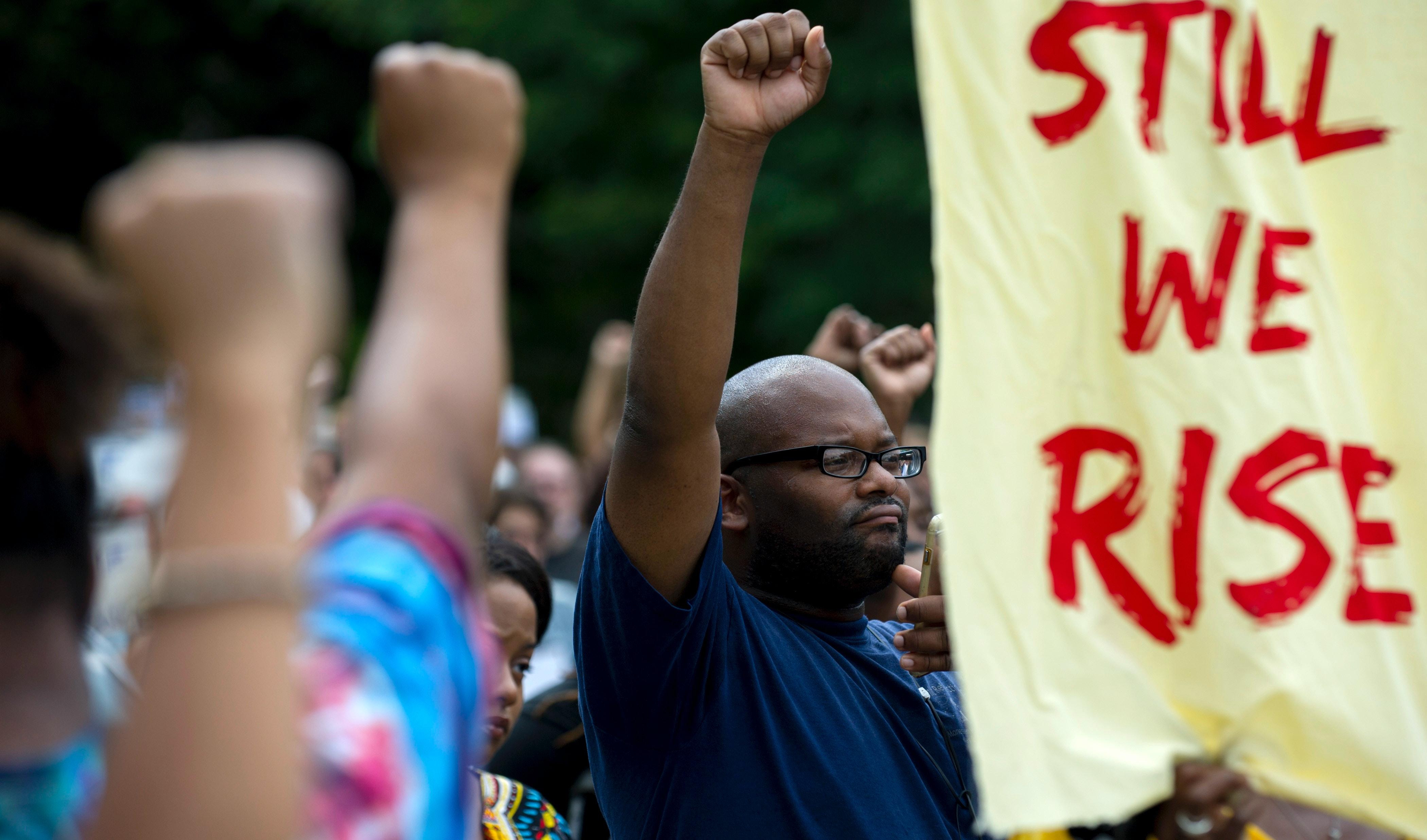 Mark Ruffalo is marching through Virginia