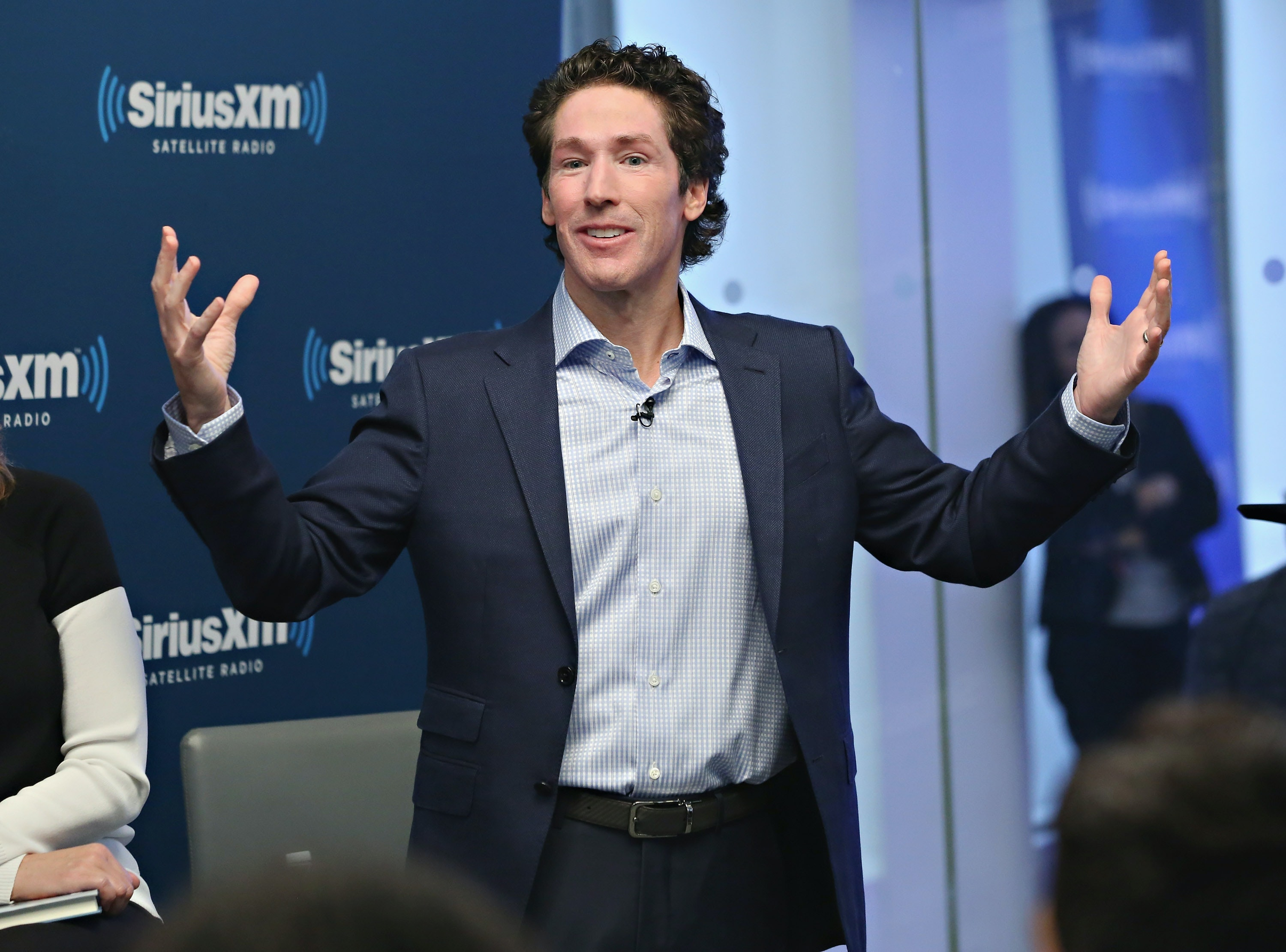 Joel Osteen to uproarious Hurricane Harvey victims: Don't have a 'victim mentality'