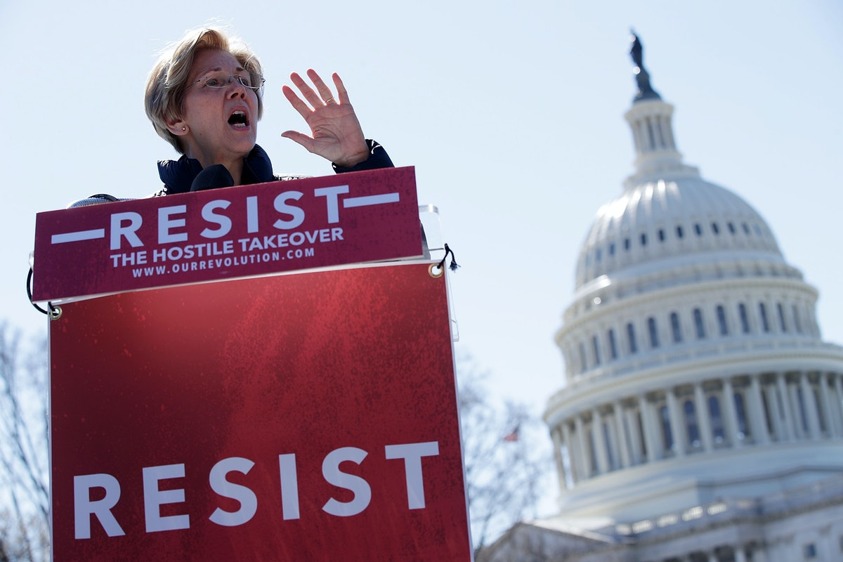 Elizabeth Warren Is Here To Remind You Why Persisting Is Still More Important Than Ever