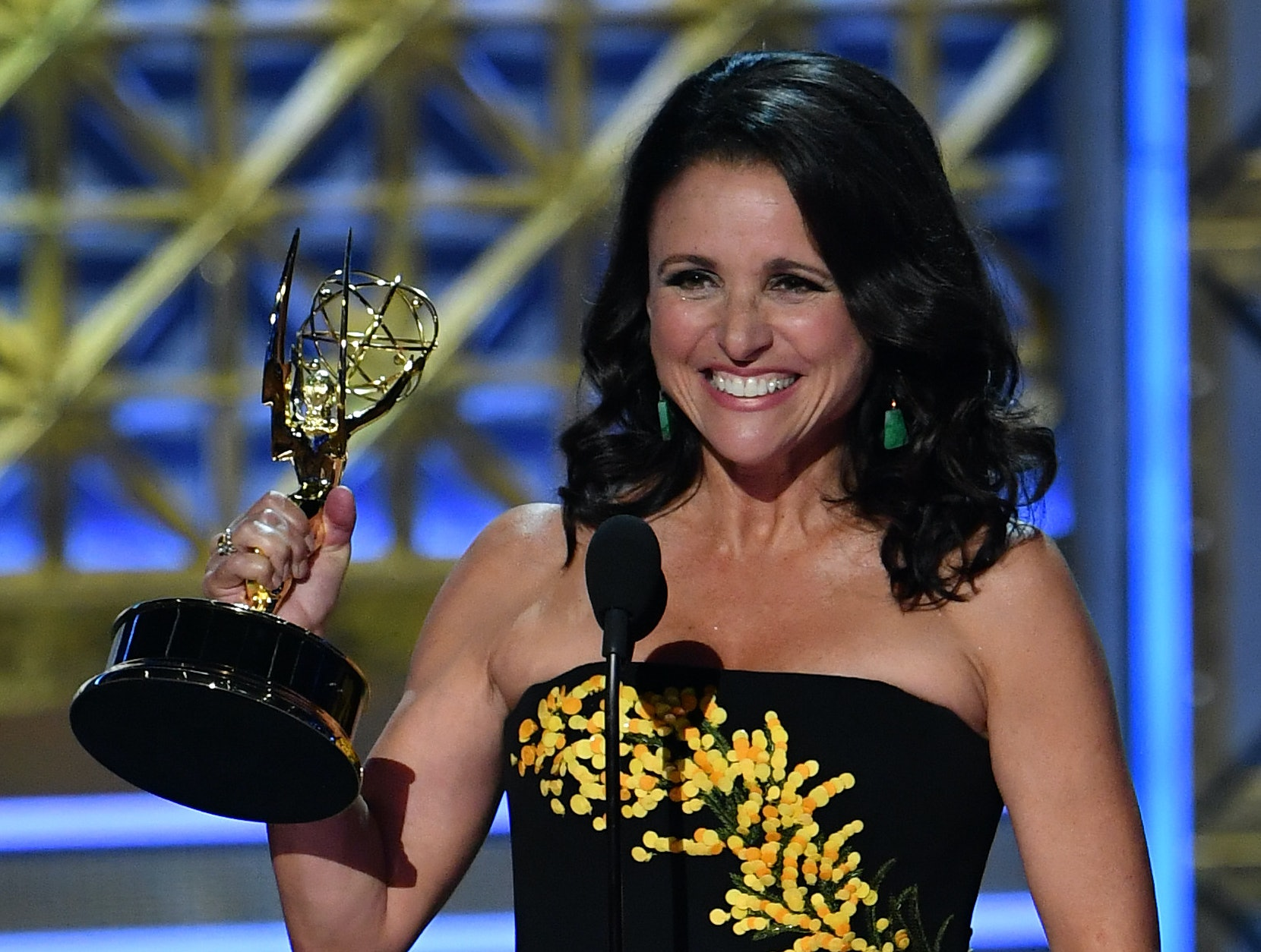 Julia Louis-Dreyfus Sets Emmys Record With Sixth Consecutive Win for Veep