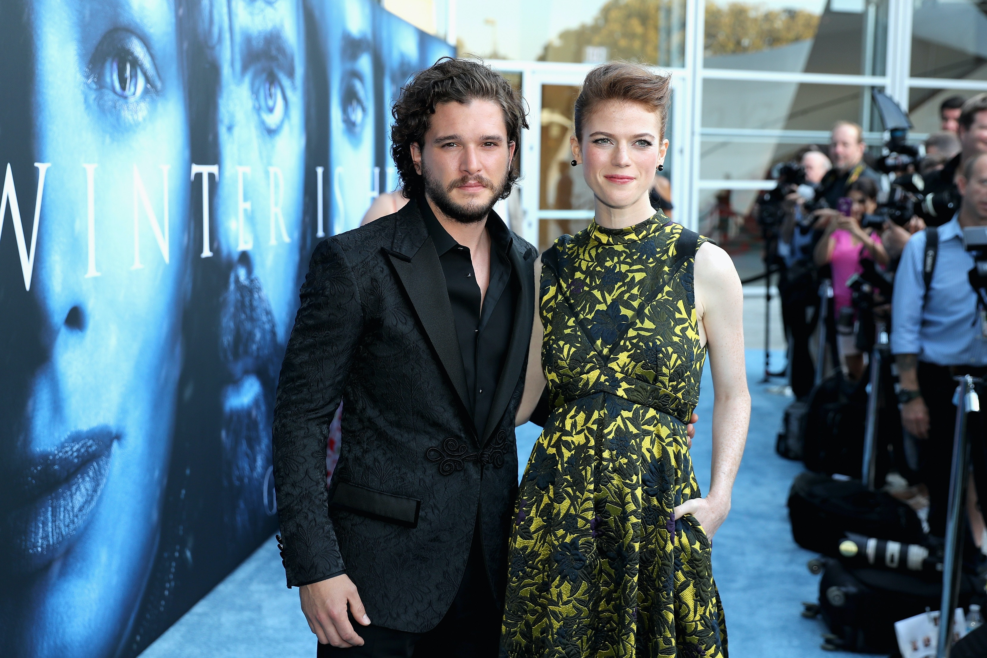 Jon snow and ygritte actors hookup