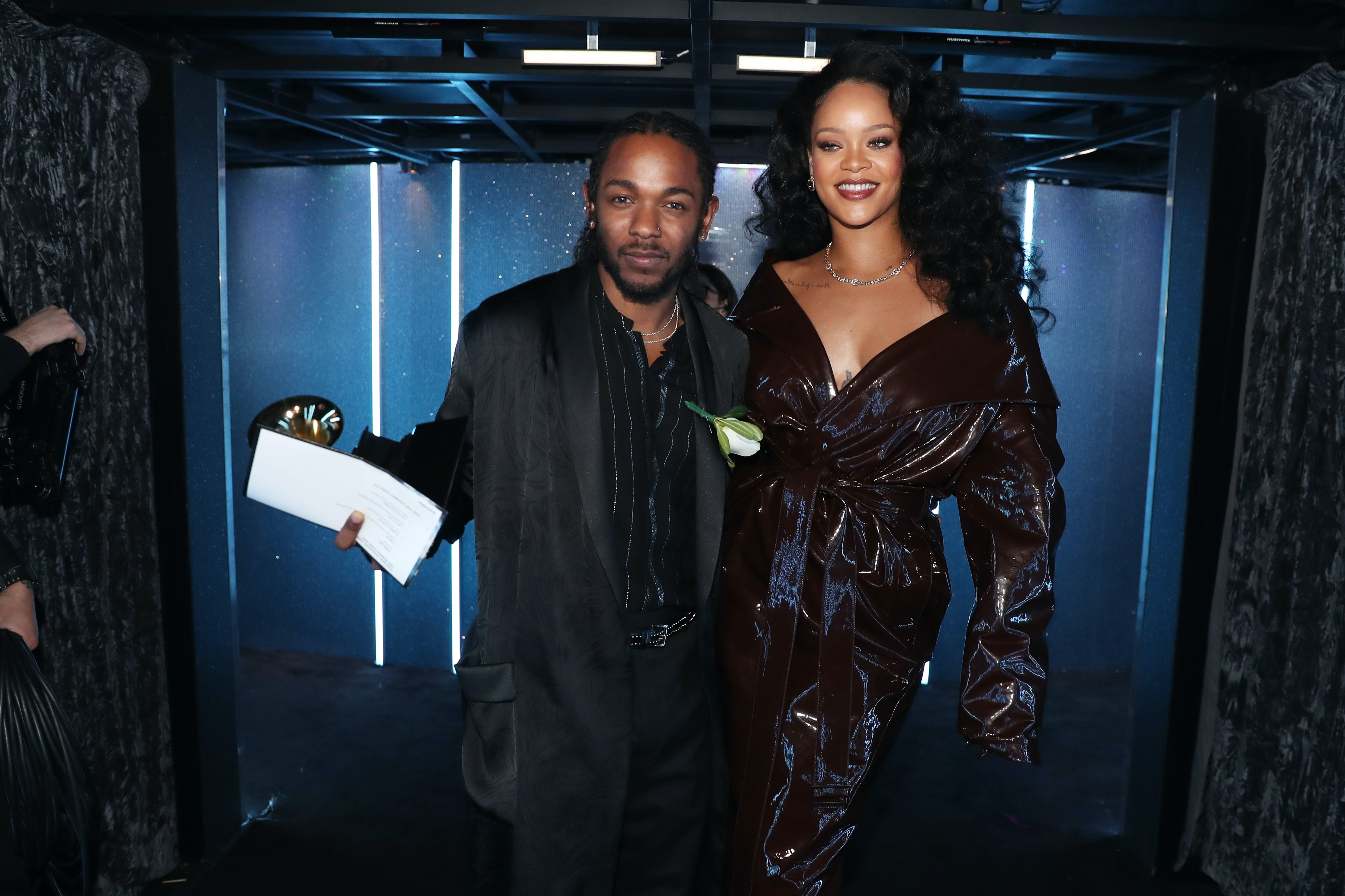 Image result for rihanna 2018 grammys loyalty