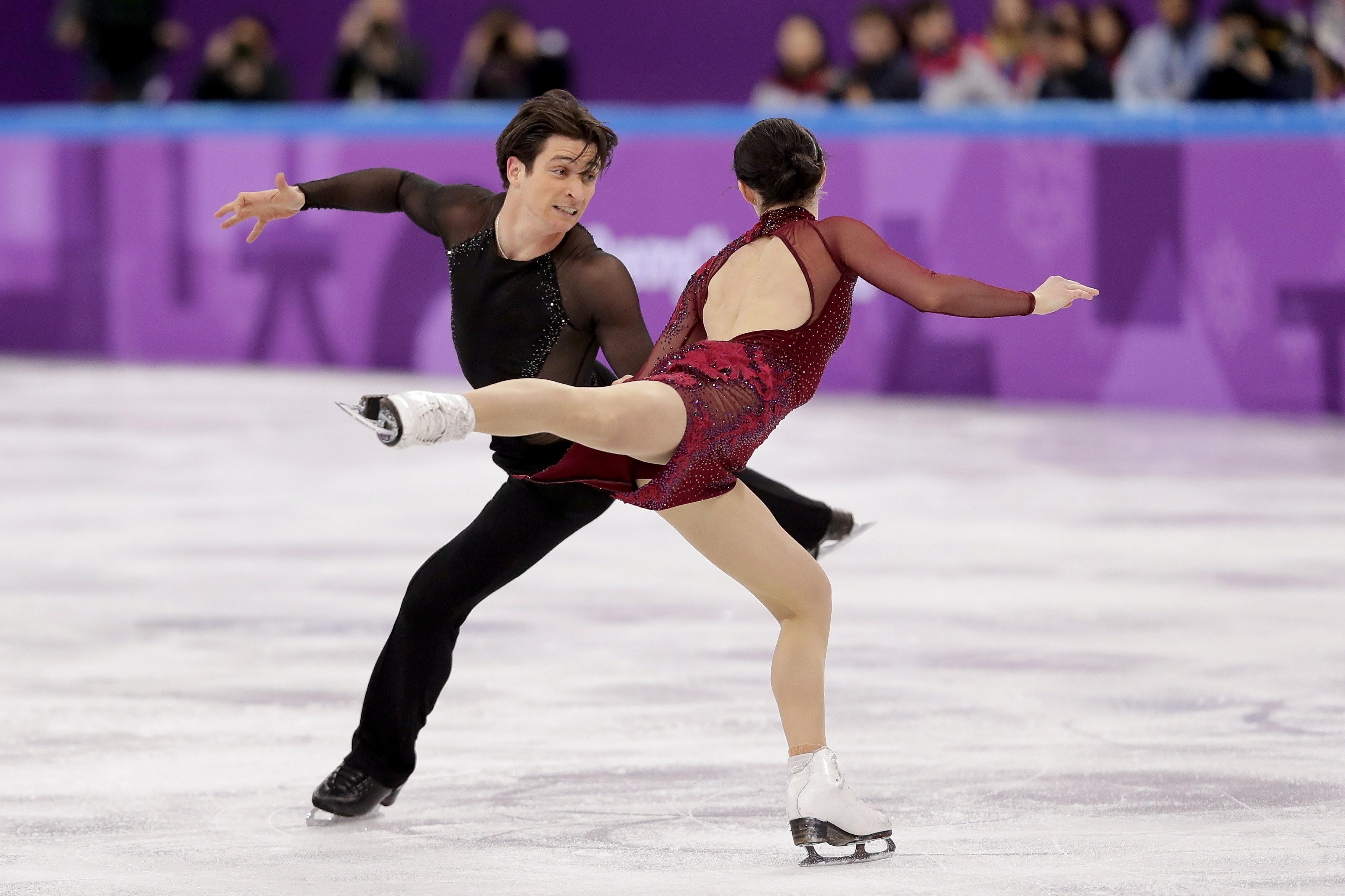Are any figure skating pairs hookup