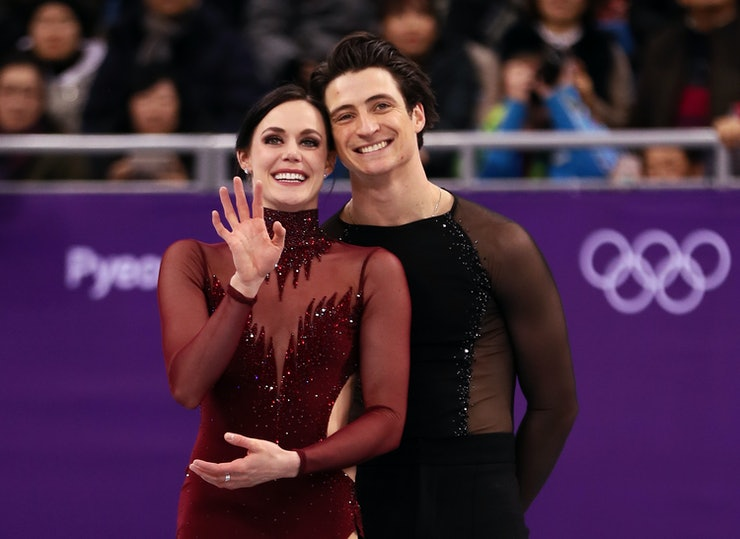 have scott and tessa dating Tessa virtue and scott moir made an appearance tuesday on the ellen degeneres show and were moir and virtue did do fairly well at a dating game segment to.