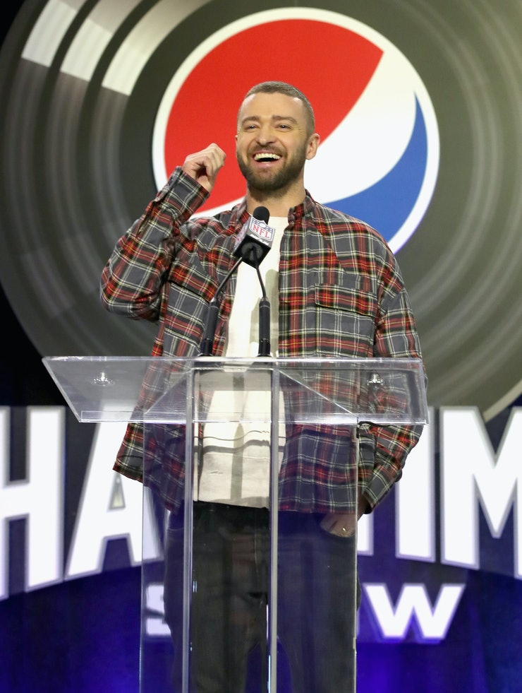 justin timberlakes super bowl 2018 halftime performance