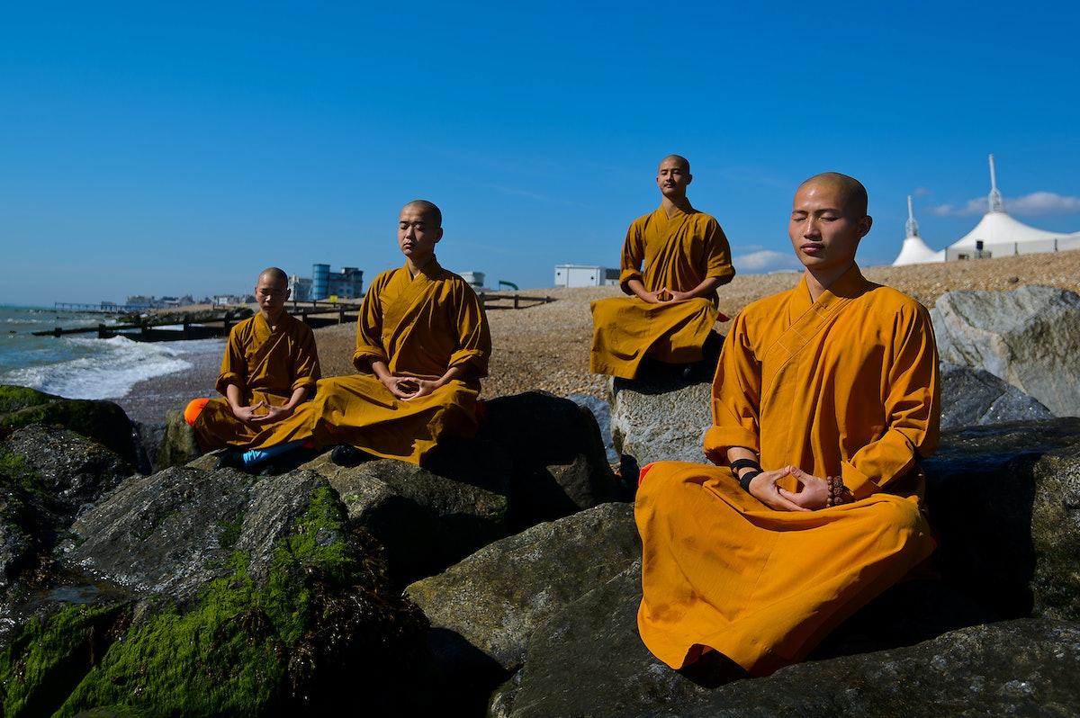 Brain And Meditation - Magazine cover