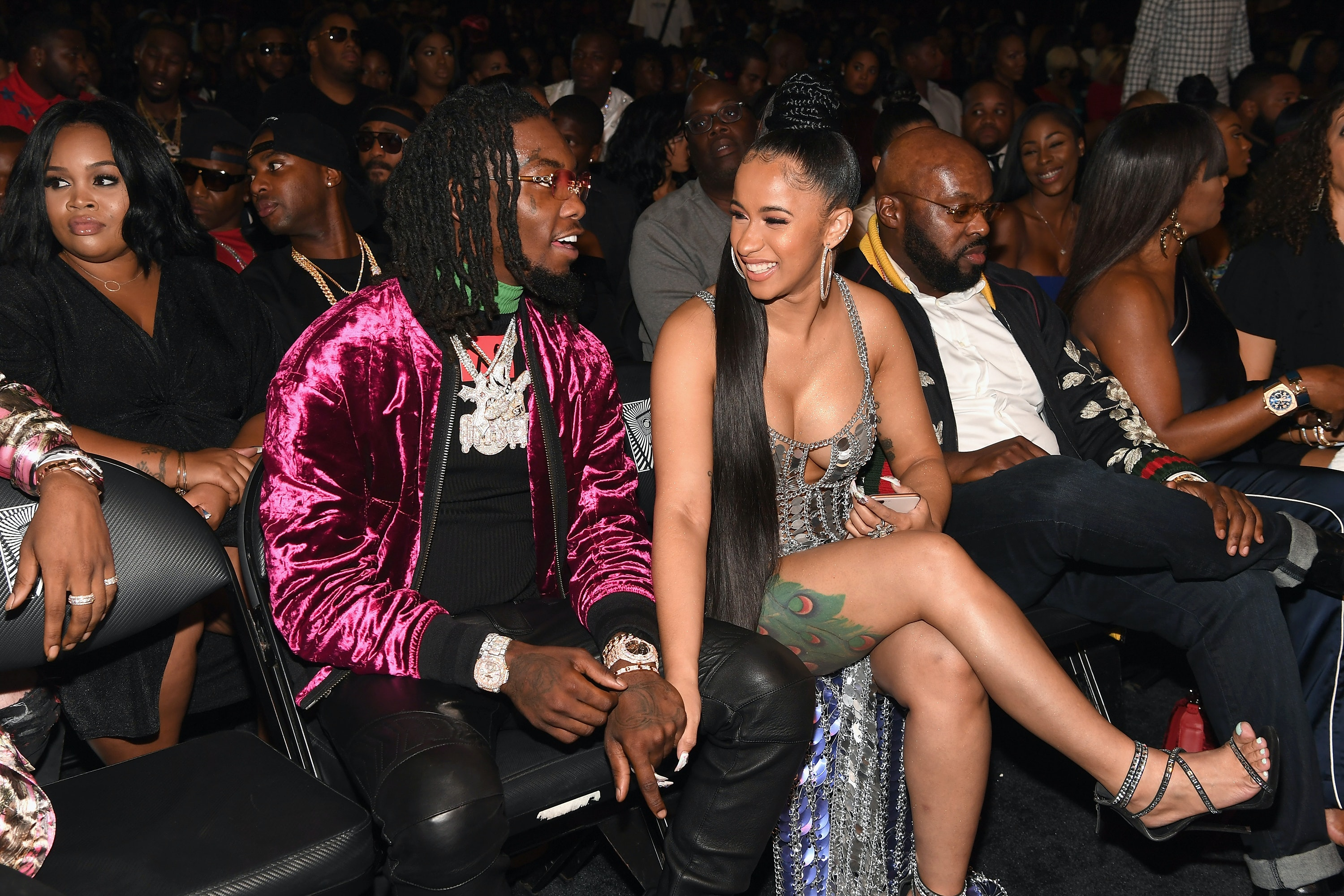 How Did Cardi B Offset Meet Music Brought The Soon To Be Parents