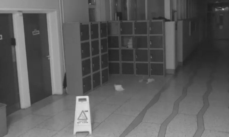 Ghost Cam Tune >> Scary Video Of Paranormal Activity In A School Hallway Will Make You Believe In Ghosts