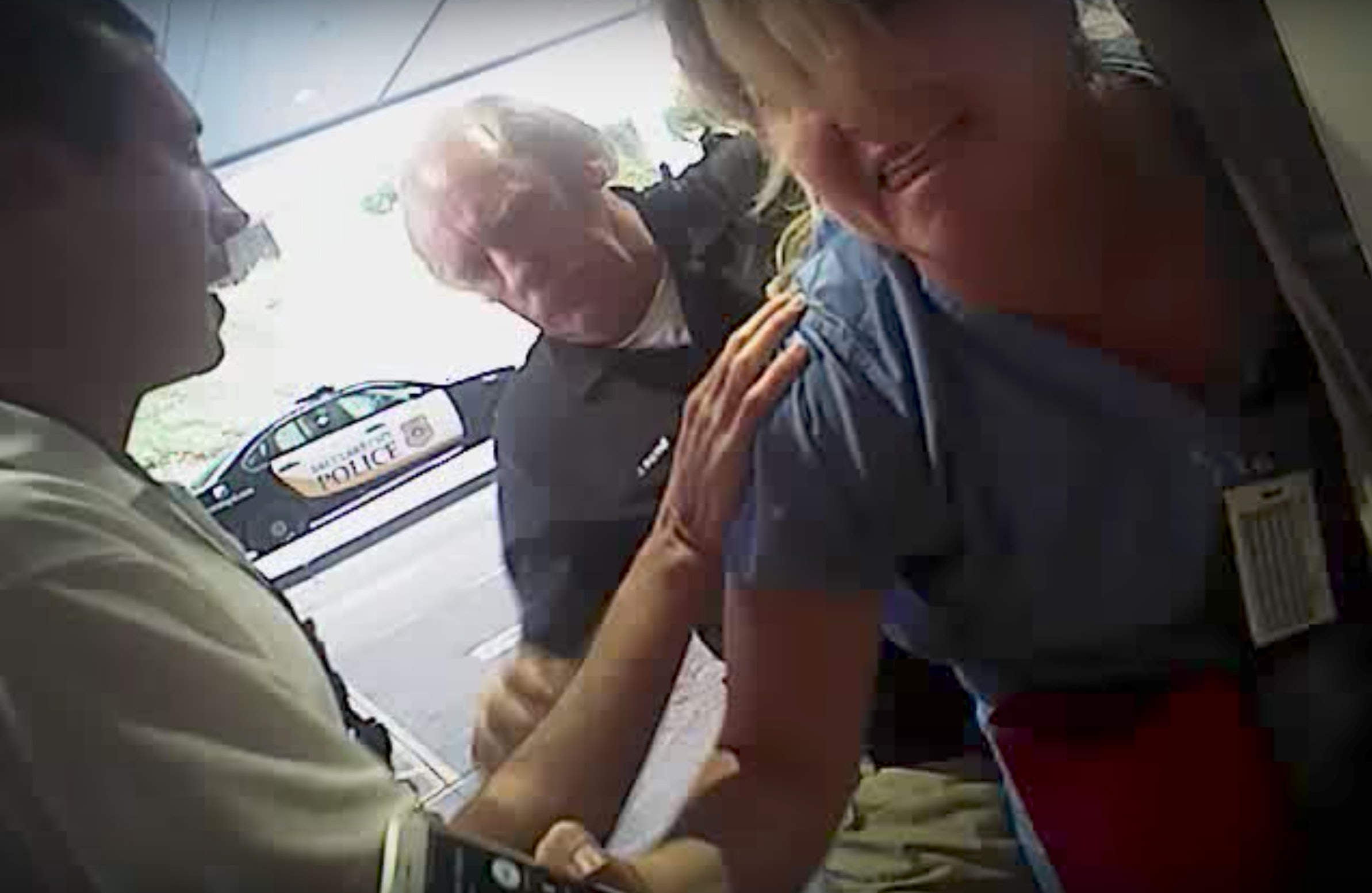 Utah policeman fired for arrest of nurse who was doing her job