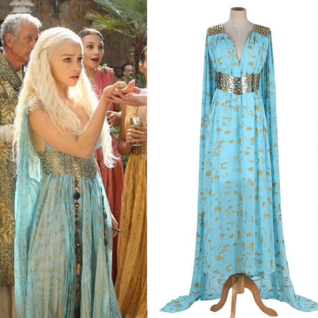 How To Dress Like Daenerys For Halloween And Slay The
