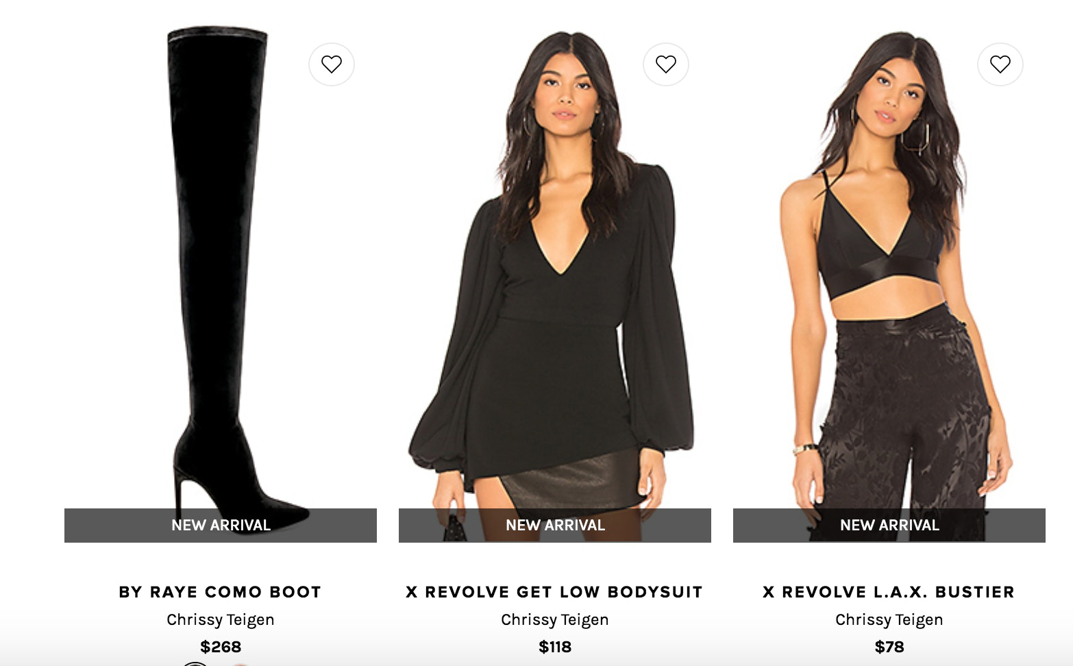 52d638c76 What's In The Chrissy Teigen x Revolve Collection? It's Your New ...