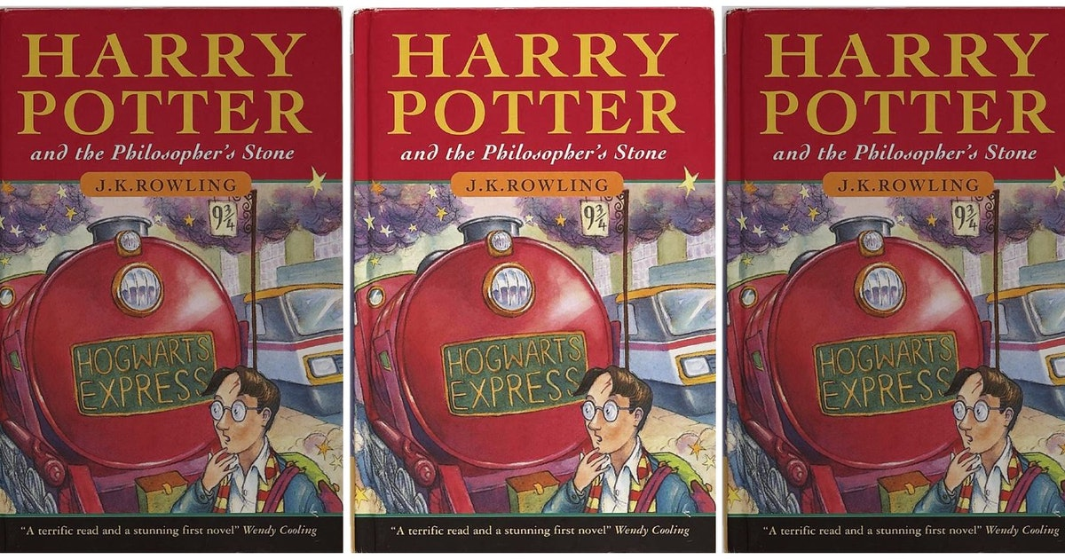 Harry Potter Book Prices : This first edition harry potter book just sold for a