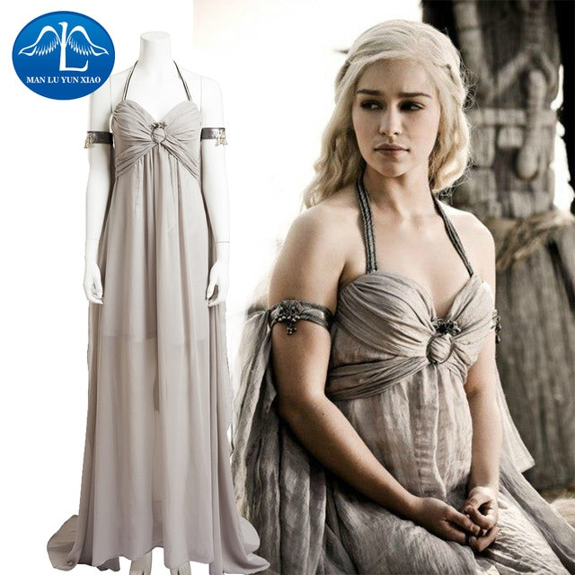 sc 1 st  Romper & How To Dress Like Daenerys For Halloween And Slay The Costume Contest