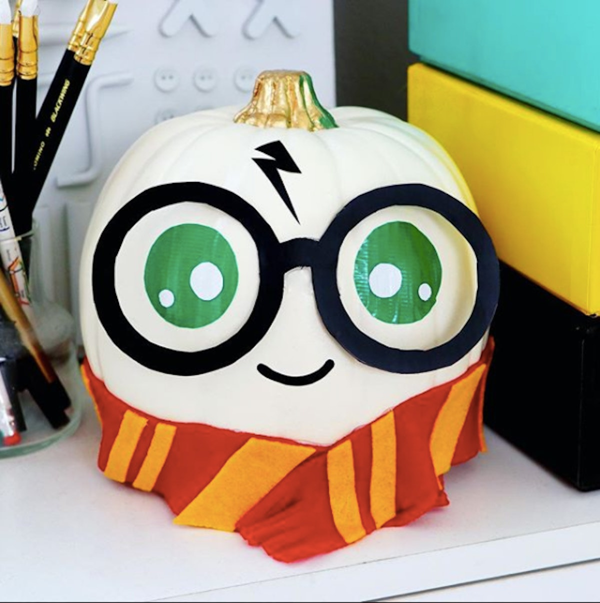 These Harry Potter Pumpkins Are The Cutest DIY Halloween Accessories You'll See All Year
