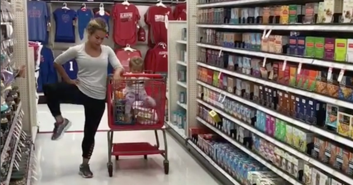 Video of sia cooper working out at target is going viral