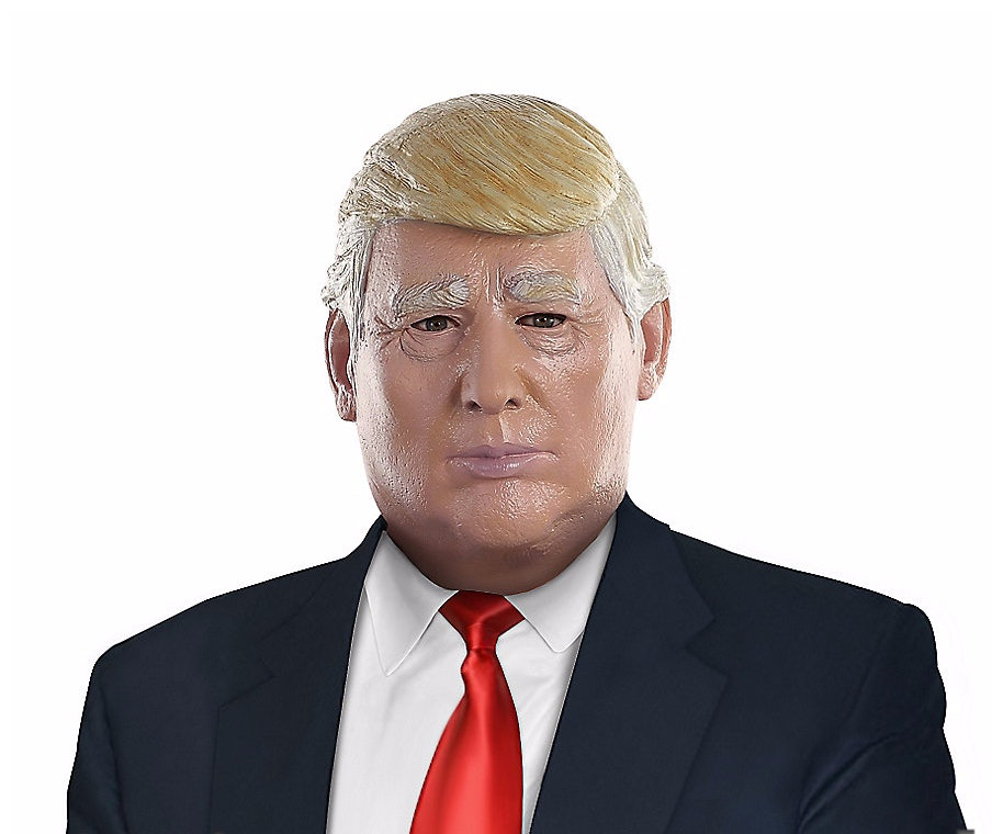 image relating to Donald Trump Mask Printable called 9 Donald Trump Halloween Masks If Yourself Need to have In the direction of Produce The