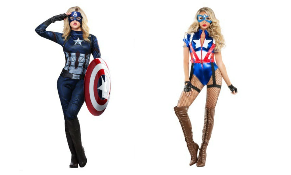 Marvel Halloween Costumes Diy.6 Captain America Halloween Costumes For Women Who Want To Be