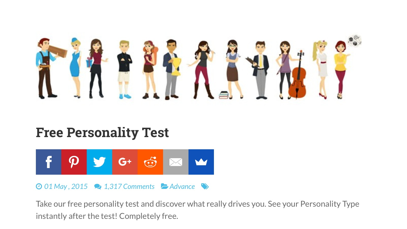 graphic about Fun Personality Tests Printable titled 11 Character Assessments Related In direction of Myers-Briggs Best For