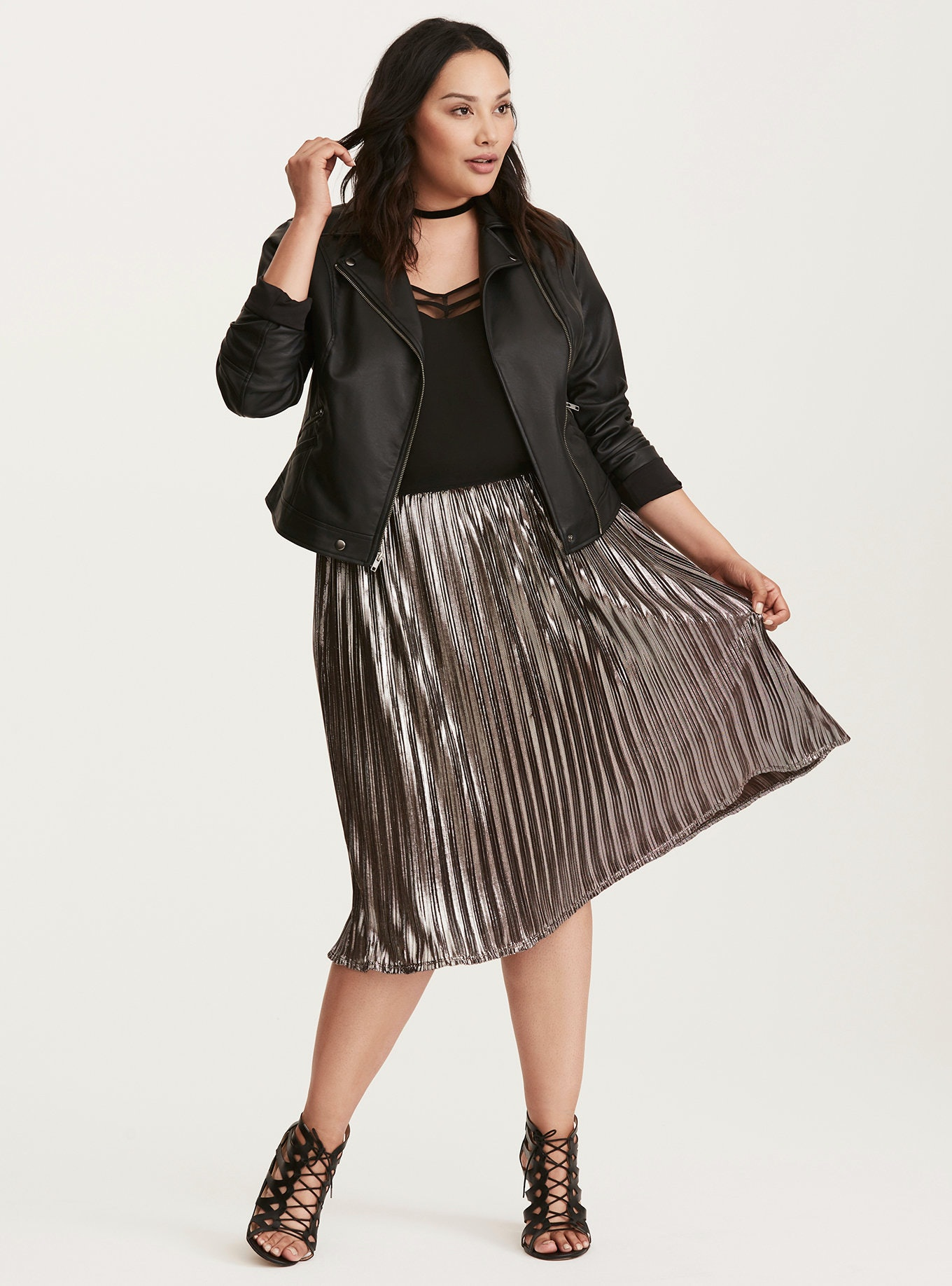 3244d1c176b7 Asos Curve Jersey Midi Skirt With Pockets | Saddha