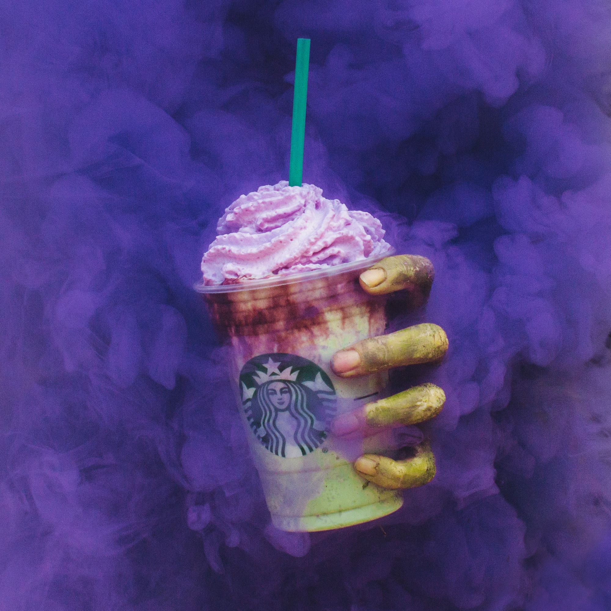 New Starbucks Zombie Frappuccino is a dark unicorn risen from the dead