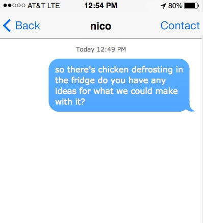 10 Random Texts To Send Your Partner When You're Just