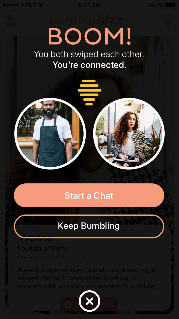 what is bumble bizz  you can now use the app for career networking