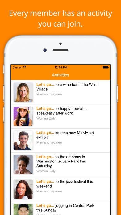 Find female friends app