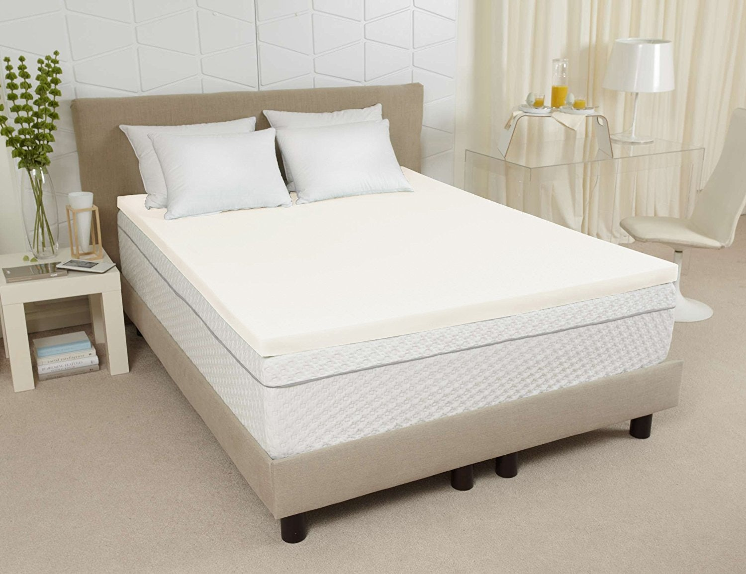 7an ecofriendly mattress topper made with plantbased ingredients