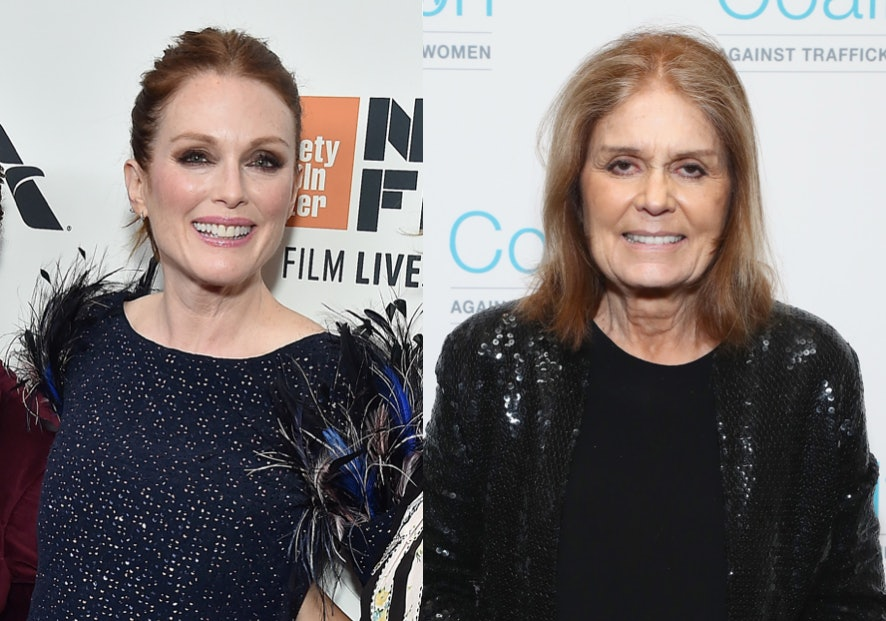 Julianne Moore to star in Gloria Steinem biopic""